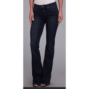 Paige Bell Canyon Flare Dark Denim Jeans